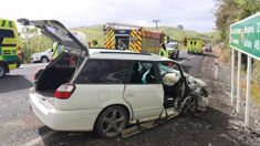 One person dead after crash in Christchurch