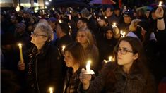 Rebecca Wright: Vigil held for victims of Pittsburgh shooting