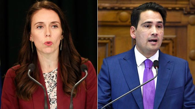 Prime Minister Jacinda Ardern and National leader Simon Bridges. Photo / Getty Images