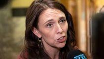 Jacinda Ardern addresses media in Whakatane