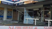 Two injured in explosion at Christchurch laundromat