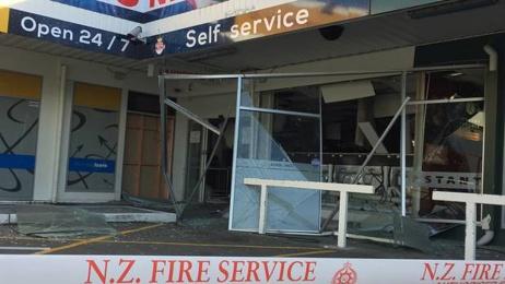 Explosion rocks Christchurch building