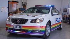 Police quit Pride Parade after being told they can't march in uniform
