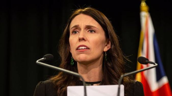Yesterday, Prime Minister Jacinda Ardern expanding the inquiry into state abuse to include churches. Photo / Mark Mitchell