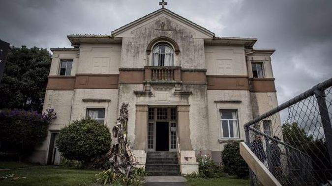 St Joseph's Lodge in Grey Lynn where the body was found. (Photo / NZ Herald)