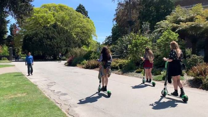 Lime e-scooters have taken over the city of Auckland. Photo / NZ Herald