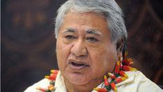Pig's head thrown at Samoan PM at Australian event