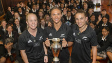 Melodie Robinson: NZ to host 2021 Women's Rugby World Cup