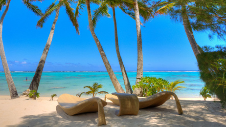 Mike Yardley: Blissed-out in Rarotonga