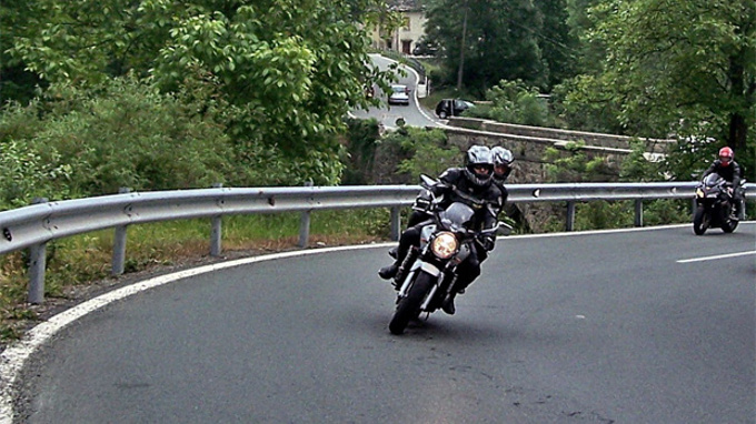 Three motorcyclists killed in two separate accidents
