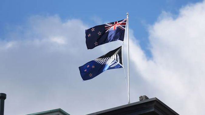 Kiwi researchers used the much-debated flag referendum to investigate how partisanship can shape our own attitudes and preferences. (Photo / NZ Herald)