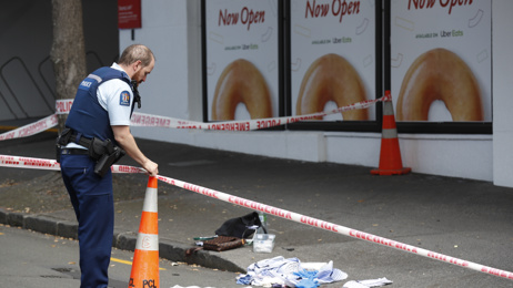 Reports of stabbing on central Auckland road