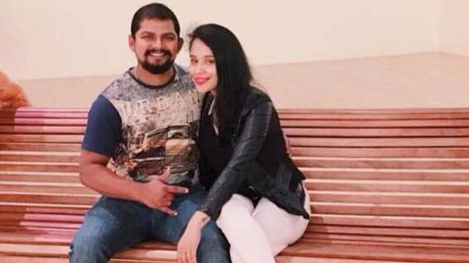 Sagar and Sonam Shelar were married in December and she moved to New Zealand in April. Photo / Supplied