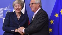 Theresa May hopes to sign Brexit deal with Brussels overnight