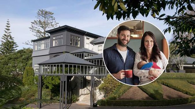 Premier House is the Wellington home of Prime Minister Jacinda Ardern, partner Clarke Gayford and baby Neve.