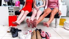 Kate Hawkesby: Who says you have to wear shoes to go shopping?
