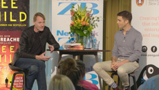 Watch: Jack Tame interviews author Lee Child