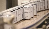 Parkers new canned water drinks taking over from plastic bottles. Photo / Supplied