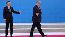 'Get me out of here': Trump walks off G20 stage