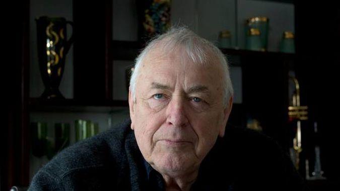 Veteran filmmaker Geoff Murphy, photographed at his Wellington home in 2015. Photo / Mark Mitchell