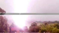 Big storm: Lightning, thunder delays flights, shakes houses