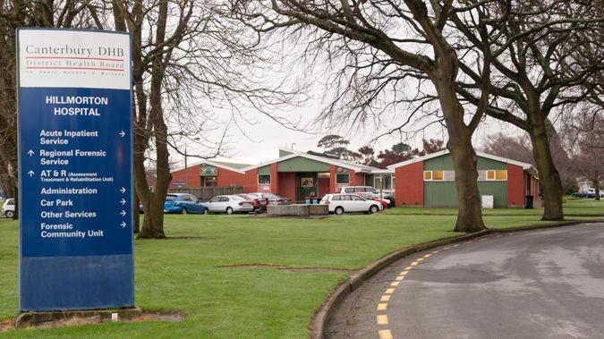 Christchurch's Hillmorton Hospital.