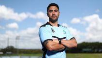 Shaun Johnson reveals Cronulla pay cut as he visits team