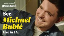 See Michael Bublé live in LA thanks to Grabaseat and Newstalk ZB
