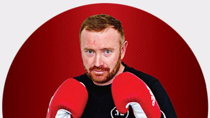 Kain Parsons has suffered a critical head injury as a contender in the OneStaff Fight for Christchurch boxing fundraiser 03 November 2018. (Photo / Supplied)