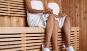 Sauna use has been linked with lower risk of heart disease. (Photo / Getty)