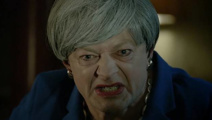 Andy Serkis combines Gollum and Theresa May in Brexit parody