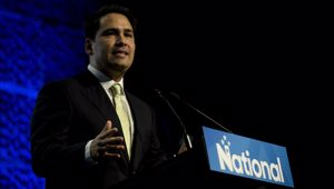 Sir John Key has suggested Simon Bridges could use support partners to win the 2020 election. (Photo / NZ Herald)
