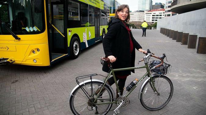 Minister for women Julie Anne Genter.