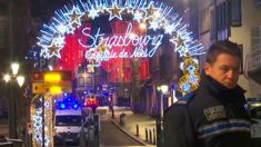 1 dead, 3 injured after shooting at Christmas market in France