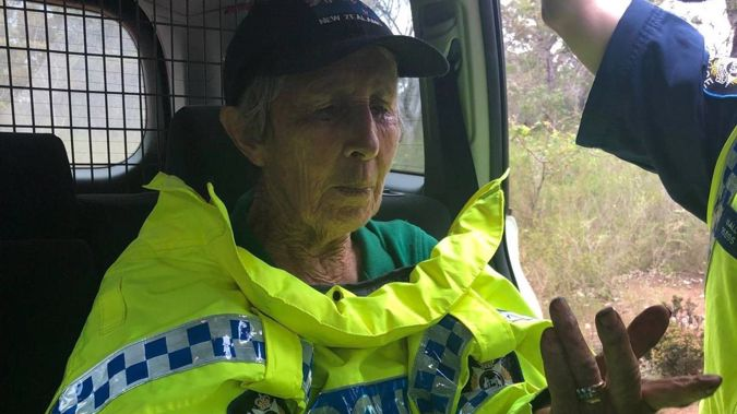 Missing grandmother found after three nights in WA bushland.