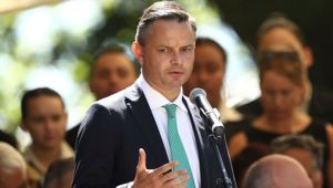Climate Change Minister James Shaw said the meeting exceeded expectations. Photo / Getty Images