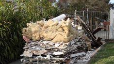 Skip company dumps load of trash on couple's driveway