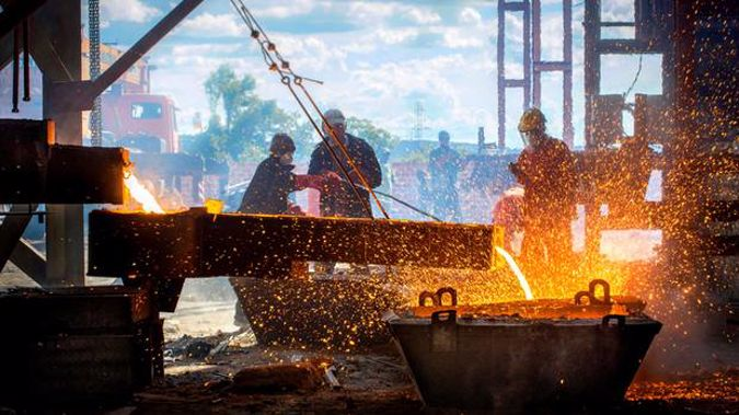 The company annually pours several thousand tonnes of high-quality iron castings. Photo/Getty Images.