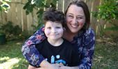 Rachel Kiefte: Charlie, 10, learns to smile for first time after surgery