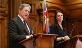 Winston Peters announced this afternoon that the Government will support the Compact. (Photo / Getty)