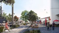 Auckland Transport's plans for Quay St. (Photo / Supplied)