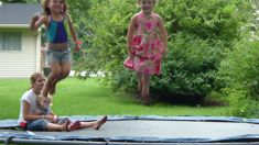 Millie Silvester: Trampolines proving popular on Trademe leading up to Xmas
