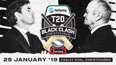 Hot Spring Spa T20 Christchurch Black Clash