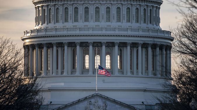 The US Senate has adjourned without a funding deal being agreed on. (Photo / AP)