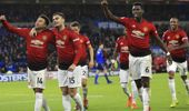 Manchester United midfielder Jesse Lingard, left, celebrates his goal against Cardiff City during the English Premier League. (Photo / AP)