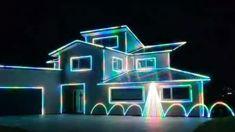 Porirua family goes viral with incredible Christmas lights and music display