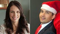 Jacinda Ardern and Simon Bridges share Christmas plans