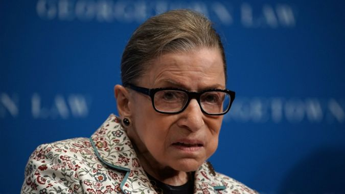 Justice Ruth Bader Ginsburg. Photo / Getty Images