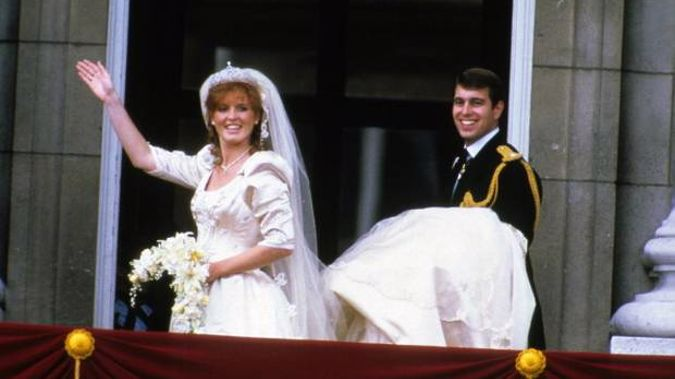The Duke and Duchess on their wedding day. Photo / Getty Images