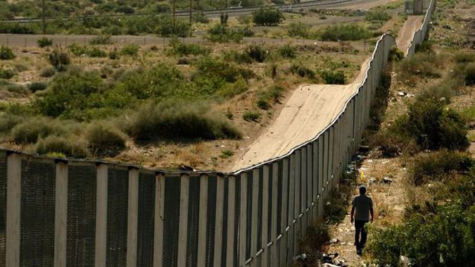 """Trump tweeted about Singh's killing Thursday, saying it was """"time to get tough on Border Security. Build the Wall!"""""""